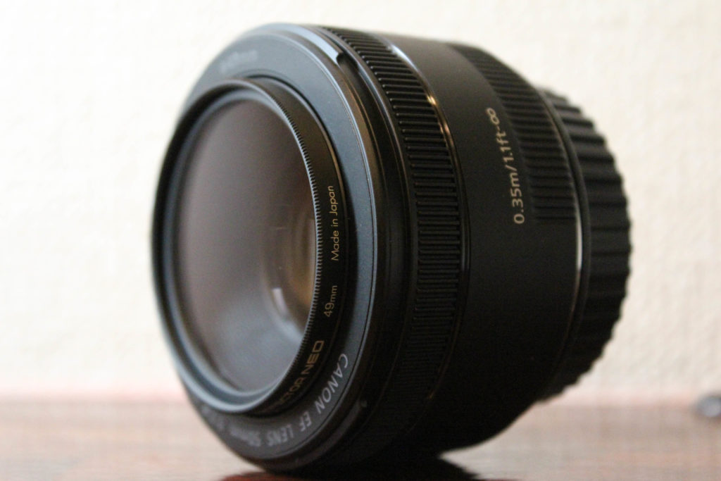 CANONのEF50mm F1.8 STM